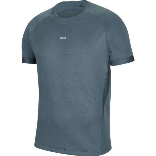 Nike F.C. Elite Trainingsshirt Donkergroen Wit